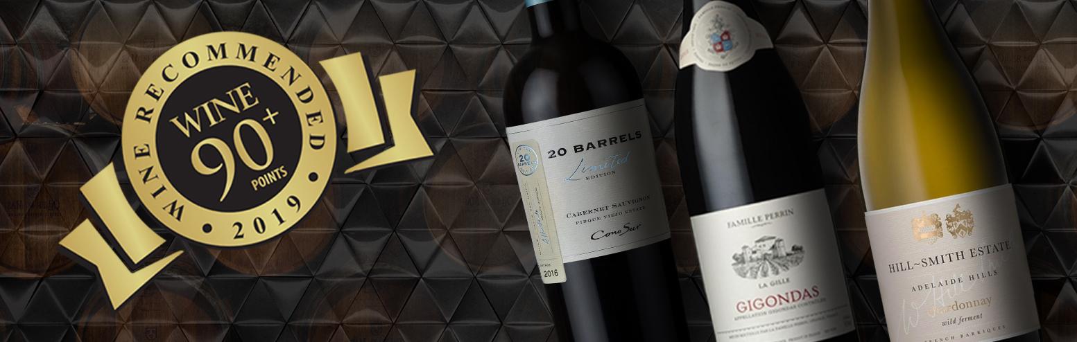 Wine 90+ Score