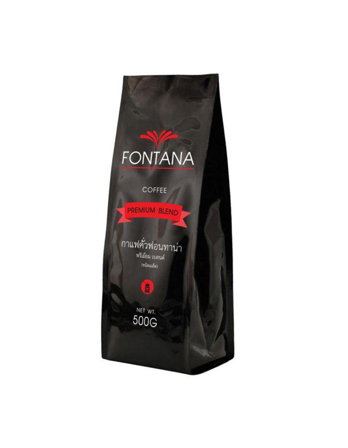 เมล็ดกาแฟคั่ว Fontana Coffee Classic Blend (Beans) 500g