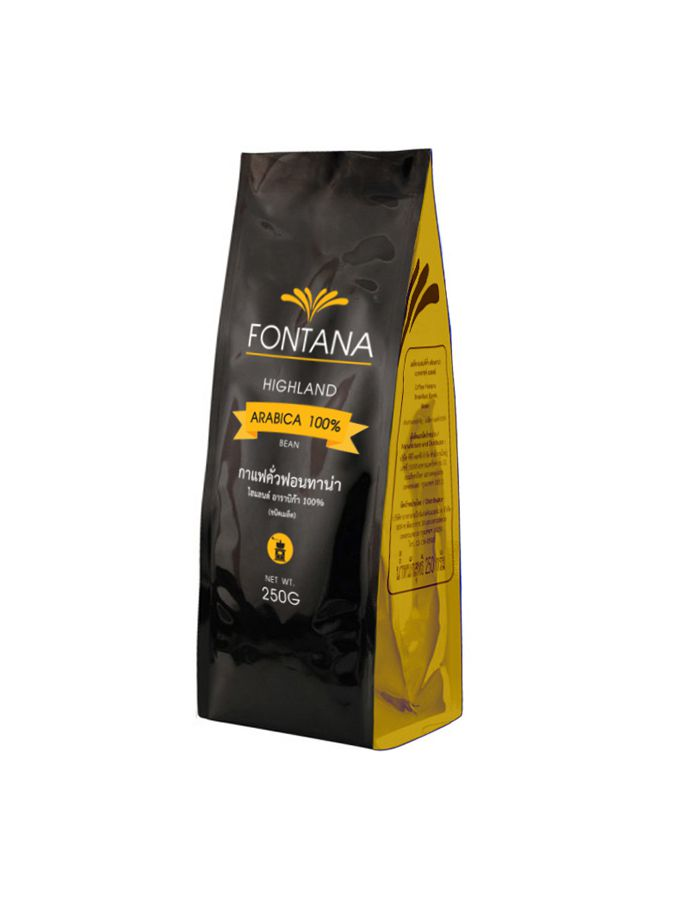 Fontana Coffee Highland Arabica 100% (Beans) 250g