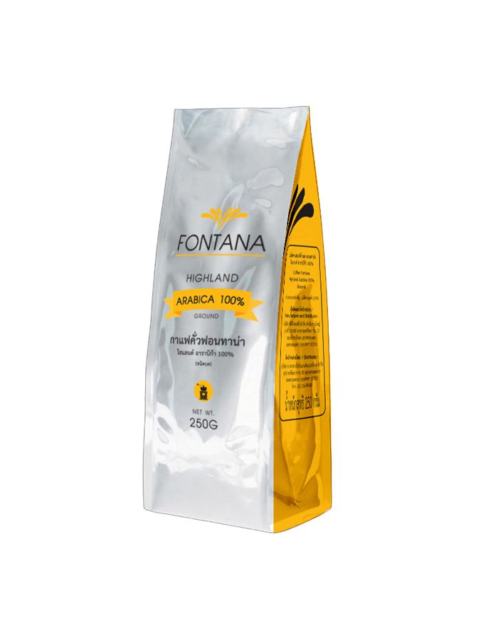 Fontana Coffee Highland Arabica 100% (Ground) 250g