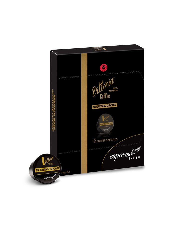 (Buy 1 get 1)  Vittoria Coffee Capsule Mountain Grown