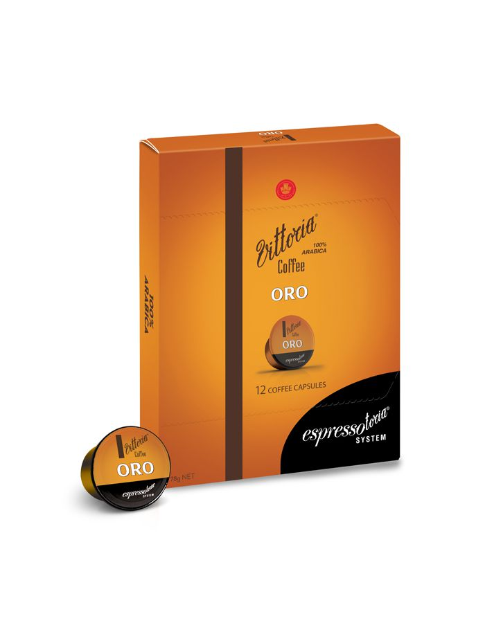 (Buy 1 get 1) Vittoria Coffee Capsule Oro
