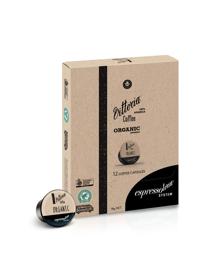 Vittoria Coffee Capsule Organic